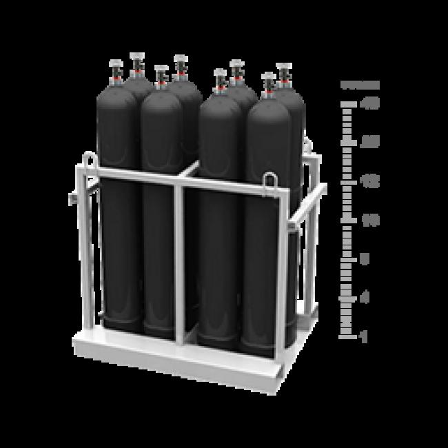 Азот в баллонах - газ